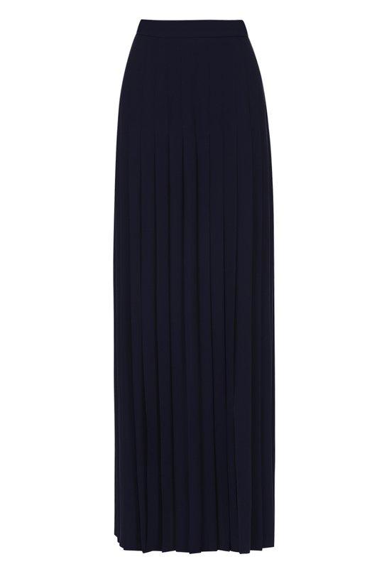 Плиссированная юбка-макси с высоким разрезом Michael Kors KRH108A/RH652