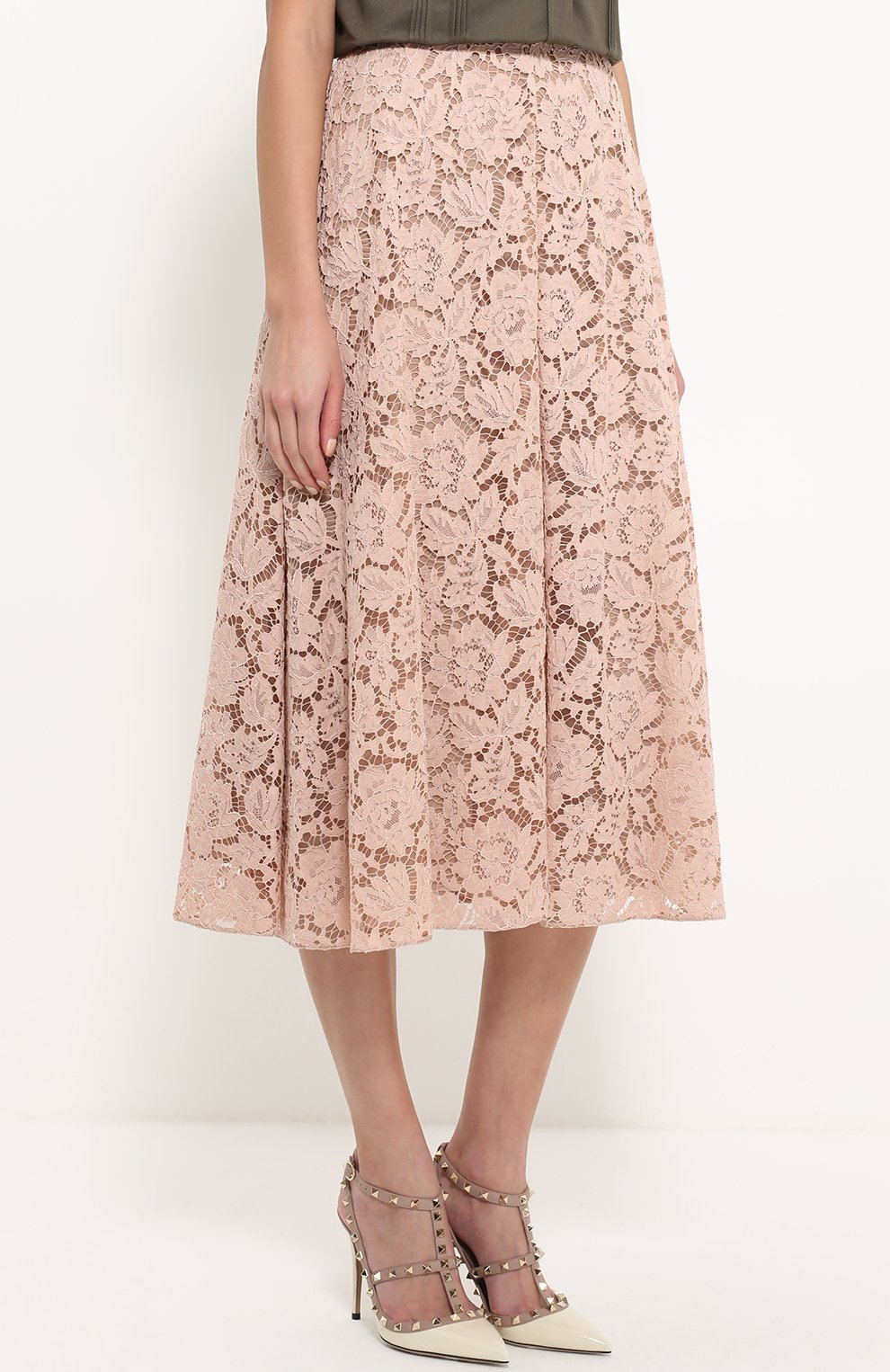 Купить юбка миди расклешенная