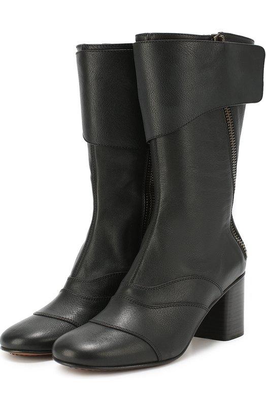 Кожаные сапоги Lexie с фигурными вставками Chloe CH27756/E42
