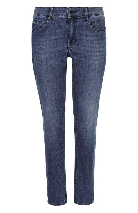Укороченные джинсы прямого кроя HUGO 50327439