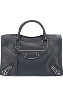 Сумка Classic Metallic Edge City Balenciaga синяя | Фото №1