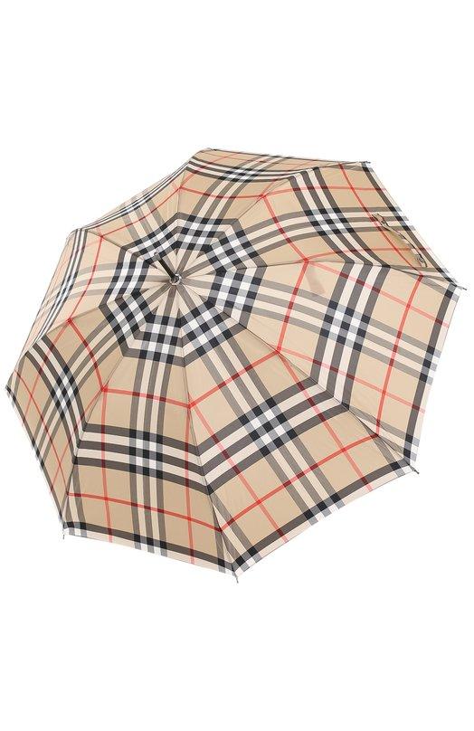Зонт-трость в клетку Burberry 3992597