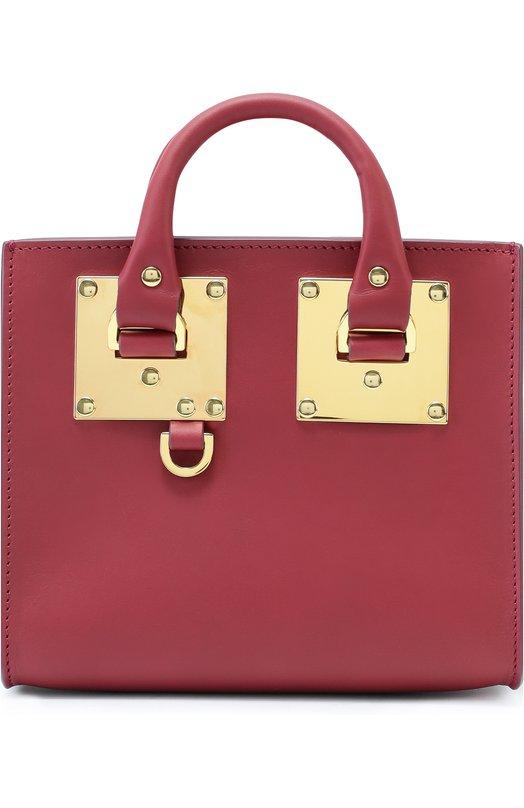 Сумка Albion Box Sophie HulmeЖенские сумки<br><br><br>Пол: Женский<br>Возраст: Взрослый<br>Размер производителя vendor: NS<br>Материал: Кожа натуральная: 100%;<br>Цвет: Бордовый