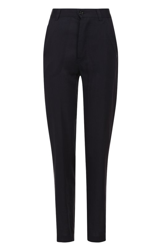 Хлопковые брюки прямого кроя с карманами Isabel Marant EtoileБрюки<br><br><br>Российский размер RU: 44<br>Пол: Женский<br>Возраст: Взрослый<br>Размер производителя vendor: 38<br>Материал: Хлопок: 55%; Вискоза: 45%;<br>Цвет: Темно-синий