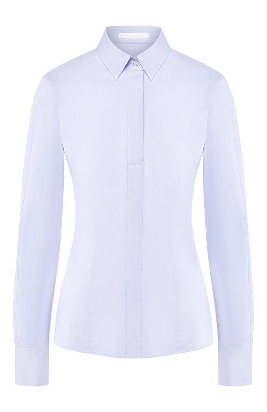 Приталенная хлопковая блуза HUGO 50290338