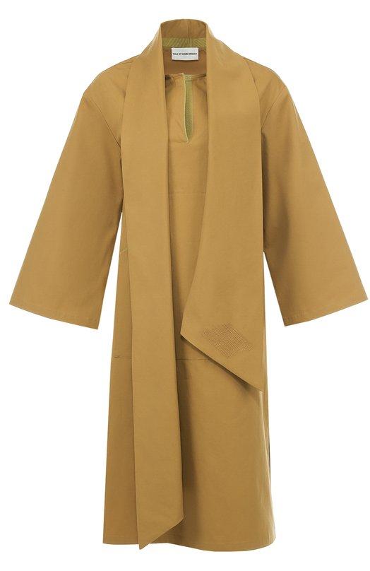 Купить Платье асимметричного кроя с высокими разрезами Walk of Shame Россия HE00343752 BL003