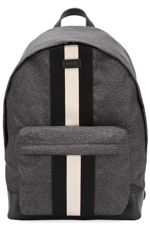 Текстильный рюкзак с отделкой из натуральной кожи Bally HINGIS