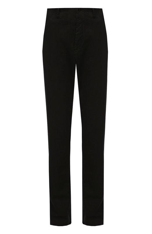 Купить Хлопковые брюки прямого кроя Transit, CFUTRAB111, Италия, Черный, Хлопок: 96%; Эластан: 4%;