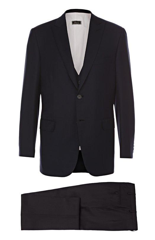 Шерстяной костюм-тройка Brioni RS02/P6A5V/BRACCIAN0/2