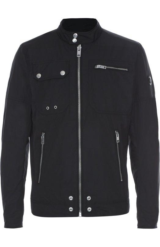 Куртка на молнии с воротником-стойкой Diesel 00SVU5/00JVL