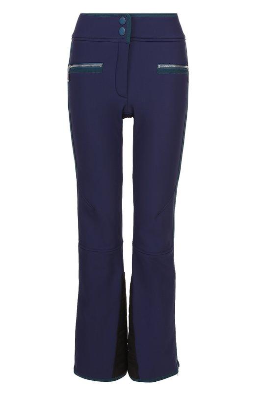 Утепленные расклешенные брюки с контрастной отделкой Escada Sport 5021522