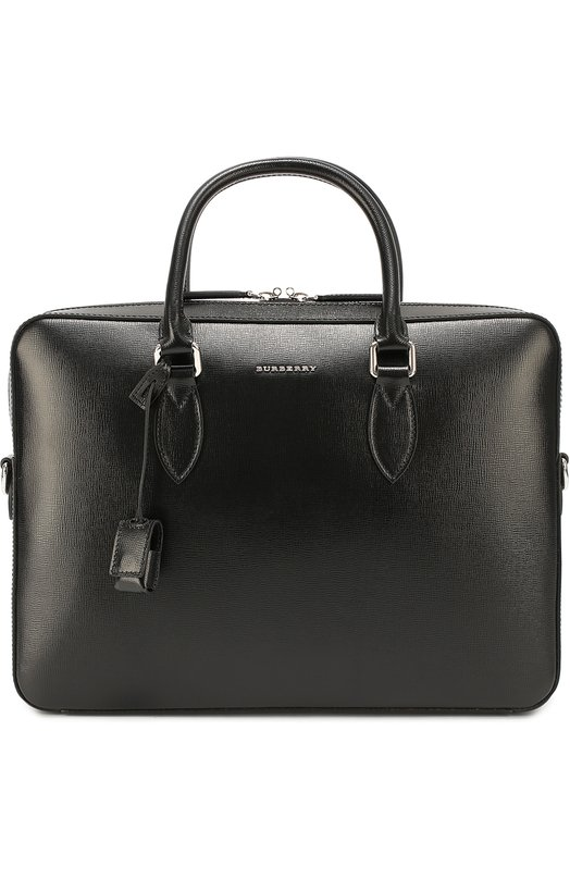 Кожаная сумка для ноутбука с плечевым ремнем Burberry 3997692