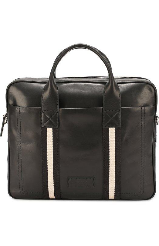 Кожаная сумка для ноутбука с плечевым ремнем Bally TEDAL MD