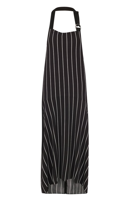 Платье-макси в контрастную полоску с открытой спиной BalenciagaПлатья<br><br><br>Российский размер RU: 42<br>Пол: Женский<br>Возраст: Взрослый<br>Размер производителя vendor: 36<br>Материал: Вискоза: 90%; Эластан: 10%;<br>Цвет: Черно-белый