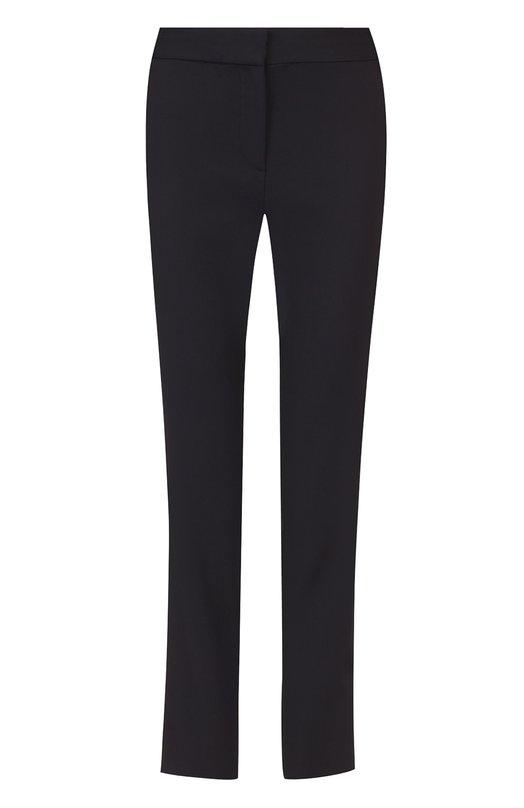 Укороченные брюки прямого кроя с широким поясом Diane Von Furstenberg S884201N16