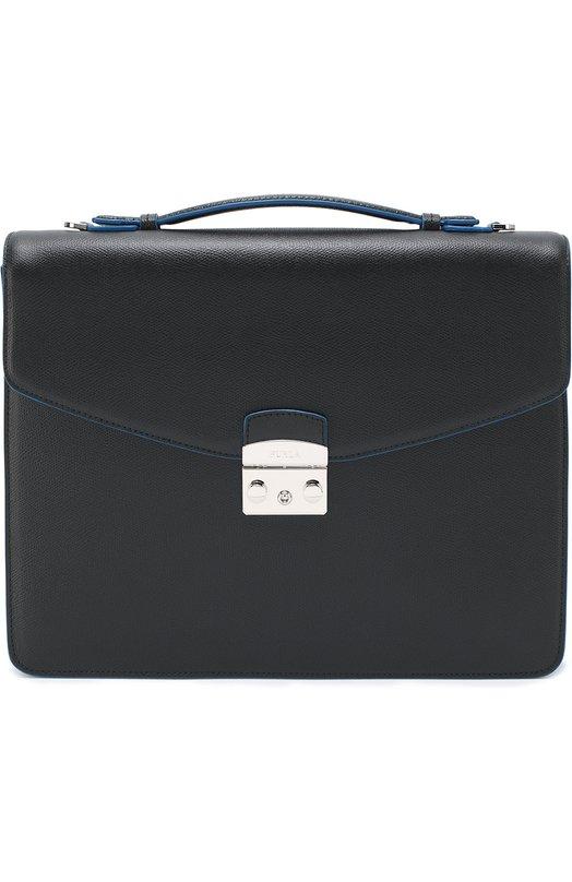 Кожаный портфель с плечевым ремнем Furla U130/ATT