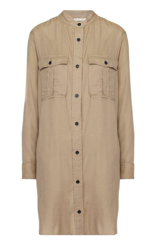 Платье-рубашка прямого кроя с накладными карманами Isabel Marant Etoile R00868-17P017E/VARDEN