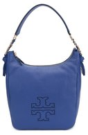 Сумка Harper Zip Hobo Tory Burch синяя | Фото №1