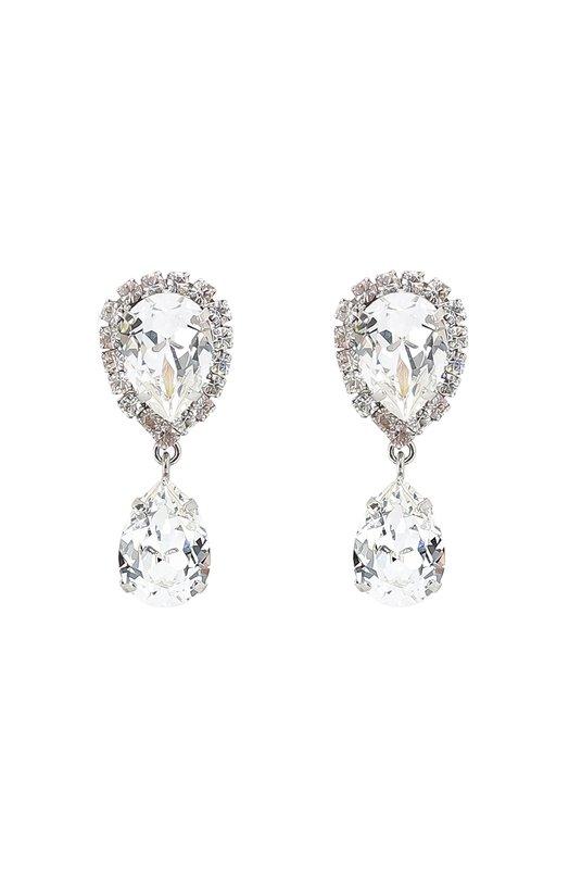 Серьги-клипсы с кристаллами Swarovski Dolce & Gabbana 0136/WEJ2N2/W0001