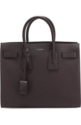 Сумка Sac De Jour Small Saint Laurent фиолетовая | Фото №1