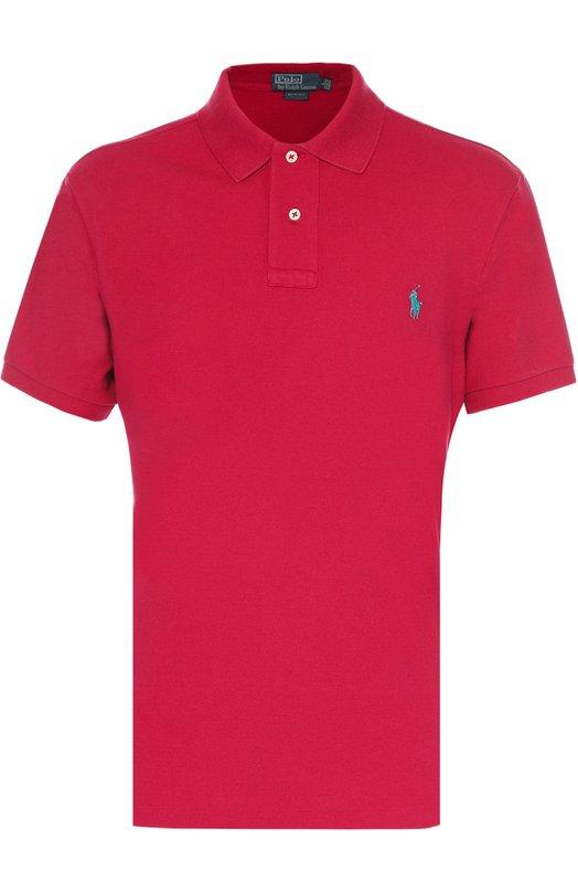 Купить Хлопковое поло с короткими рукавами Ralph Lauren, A12/KS13M/C0004, Китай, Малиновый, Хлопок: 100%;