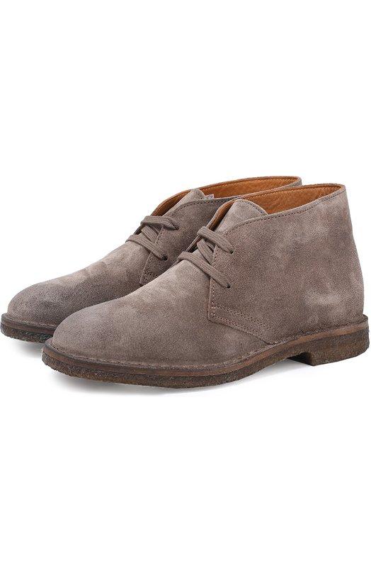 Замшевые ботинки на шнуровке Uit JILLY