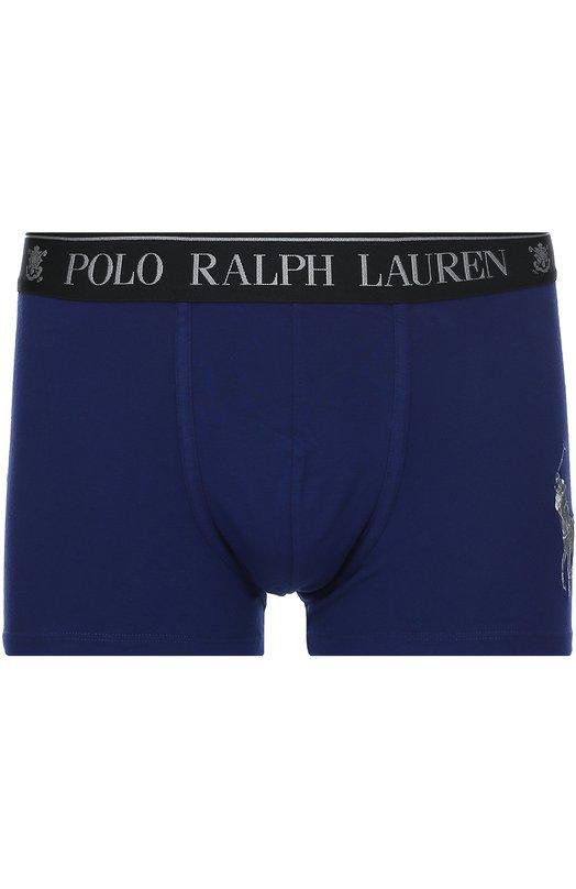 Хлопковые боксеры с широкой резинкой Ralph Lauren 251/UTRUN/B6598/EMBLEMS