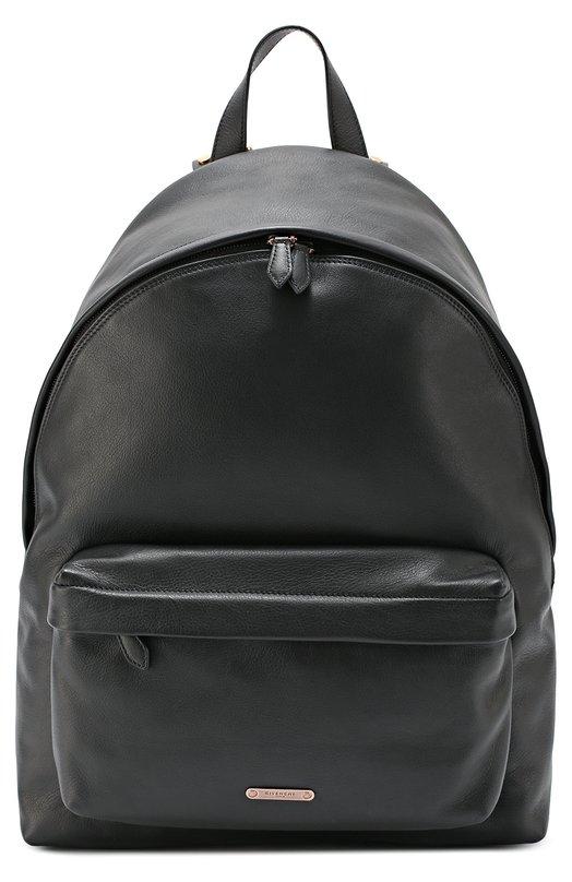 Кожаный рюкзак с декоративными заклепками на лямках Givenchy
