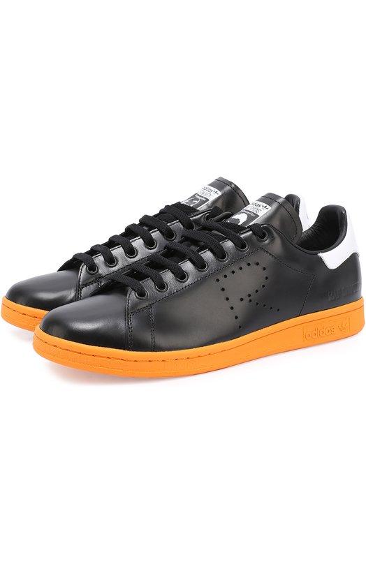 Кожаные кеды Stan Smith Adidas by Raf Simons BB2647