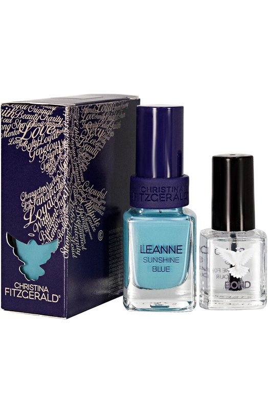 Лак для ногтей Leanne + Bond-подготовка Christina Fitzgerald 9333381003188
