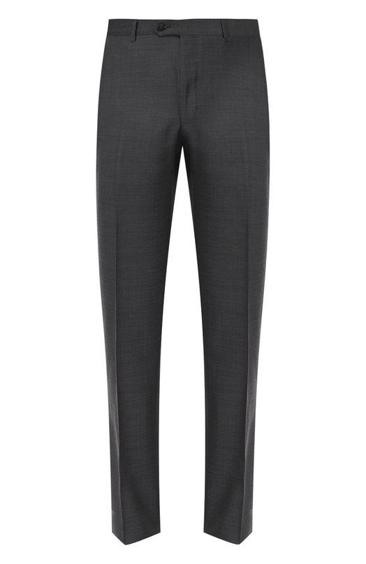 Шерстяные брюки прямого кроя Pal Zileri 83501/311/0/L
