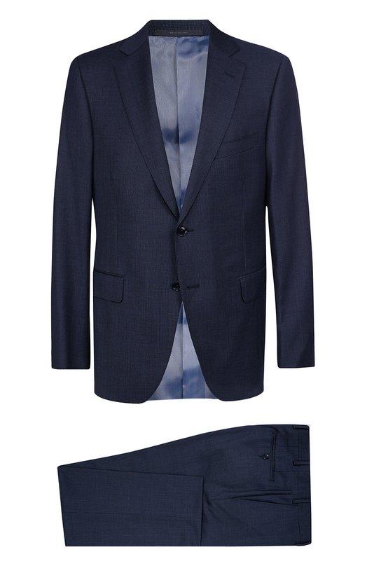 Шерстяной костюм с пиджаком на двух пуговицах Pal Zileri 83504/33B/622L/2