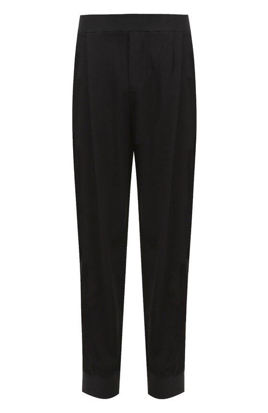 Зауженные брюки из вискозы с заниженной линией шага MCQ 415115/RHR51