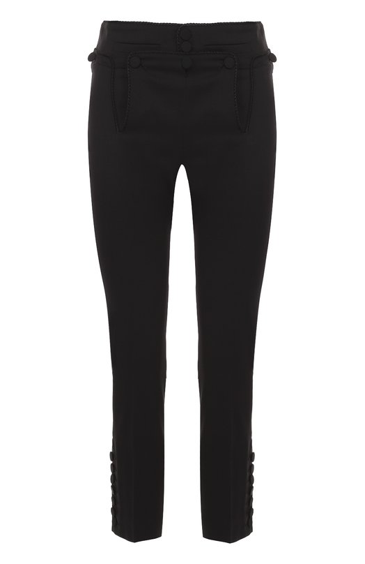 Укороченные облегающие брюки с декоративной отделкой Dsquared2 S73KA0401/S42916