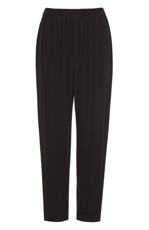 Укороченные брюки прямого кроя с эластичным поясом Marni PAMAV13A00TV285