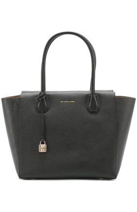 Сумка Mercer Large Satchel MICHAEL Michael Kors черная | Фото №1