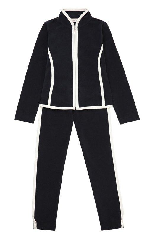 Спортивный костюм с контрастной отделкой Moncler Enfant B2-954-88543-05-80379/8-10