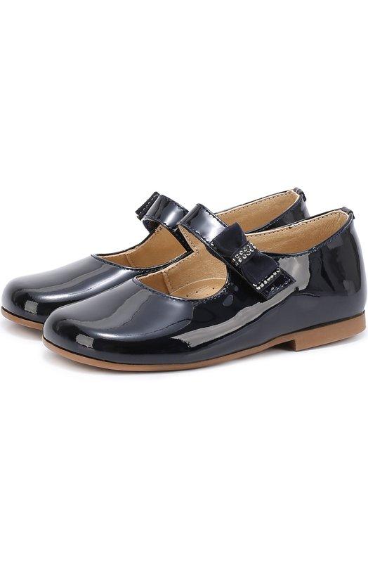 Лаковые туфли с бантом Clarys 1090/0DE0N/25-27