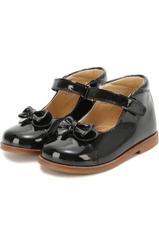 Лаковые туфли с бантом Clarys 1381/0DE0N/21-24