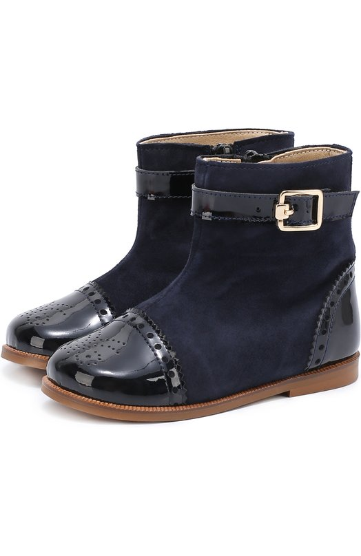 Комбинированные ботинки с брогированием Clarys 1391/0DE0N/ANTE/25-27
