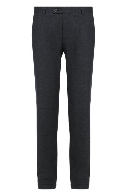 Шерстяные брюки прямого кроя Sand 2457/BRAND0N 8