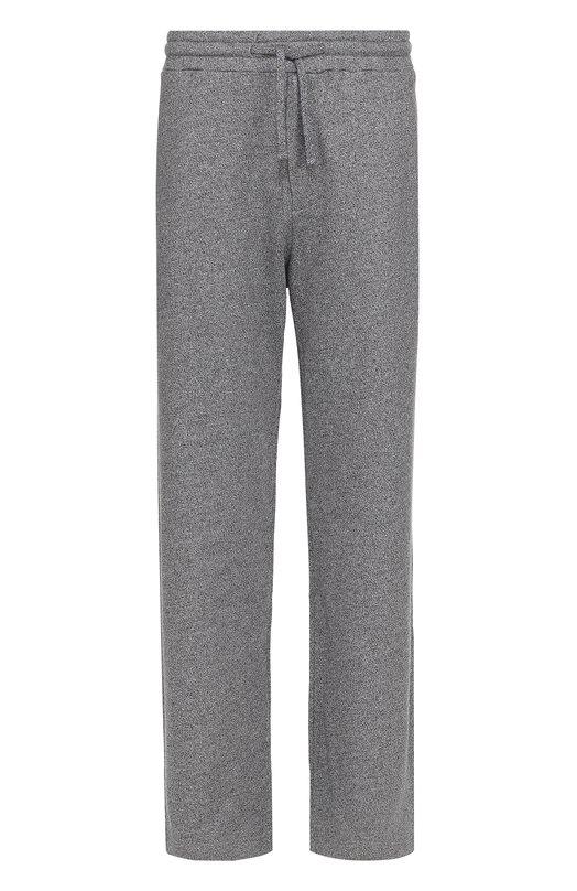 Хлопковые брюки свободного кроя Kenzo