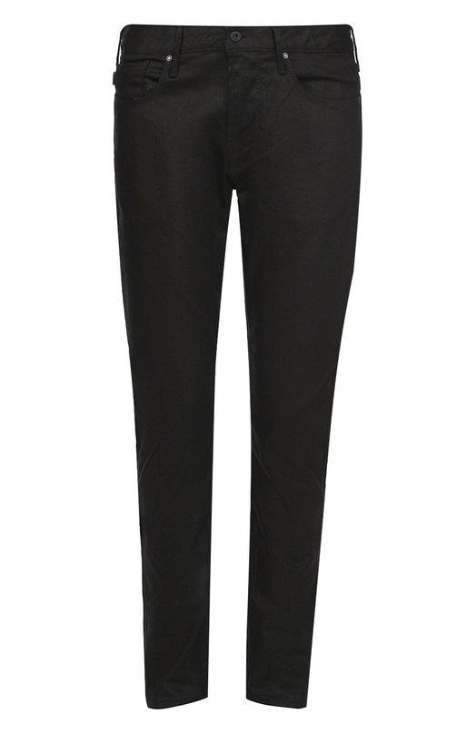 Джинсы прямого кроя из эластичного хлопка Armani Jeans 6X6J06/6D01Z