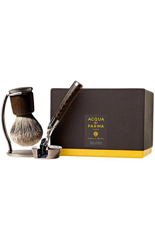 Купить Станок и помазок для бритья Collezione Barbiere Acqua di Parma, 51018, Италия, Бесцветный