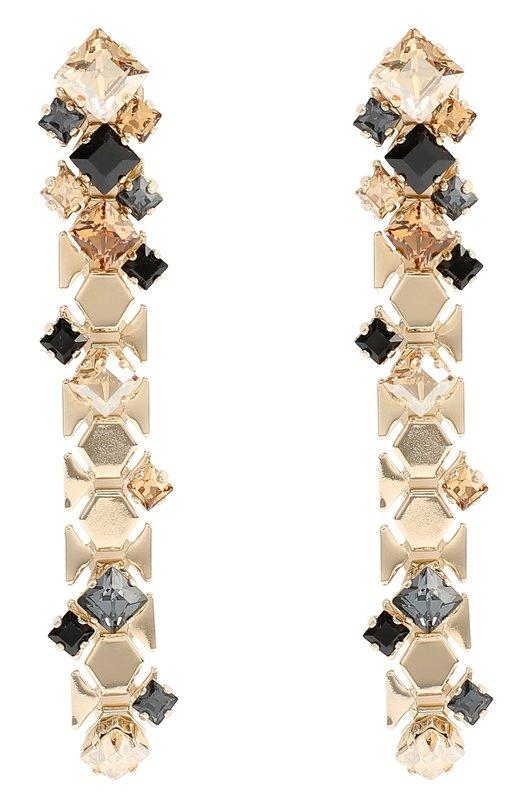 Серьги с кристаллами Lanvin AW-CJHS9H-STRA-P17