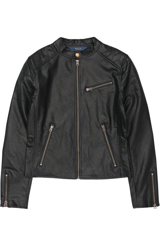 Куртка с карманами на молнии Polo Ralph Lauren G30/048F6/048F6