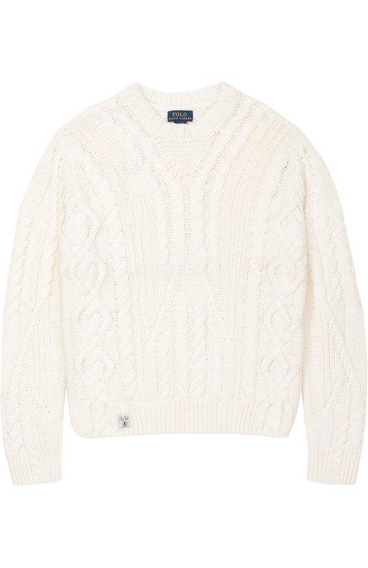 Пуловер джерси фактурной вязки Polo Ralph Lauren G40/XZ1HI/XY1HI