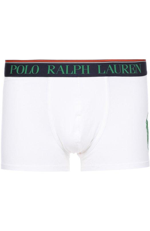 Купить Хлопковые боксеры с широкой резинкой Polo Ralph Lauren, 251/UTRUN/B6598, Филиппины, Белый, Хлопок: 95%; Эластан: 5%;