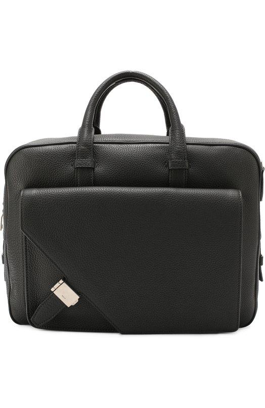 Кожаная сумка для ноутбука с плечевым ремнем Bally GILARDI