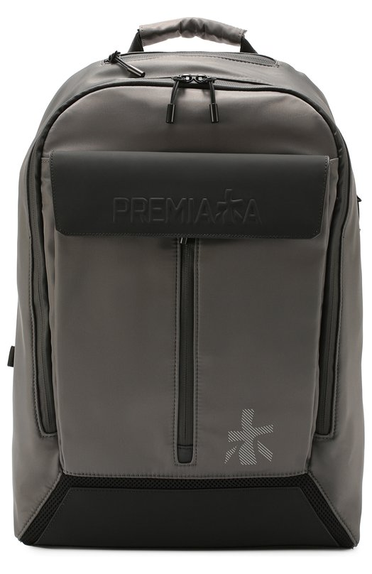Текстильный рюкзак с отделкой из натуральной кожи Premiata CHATWIN/CHATWIN